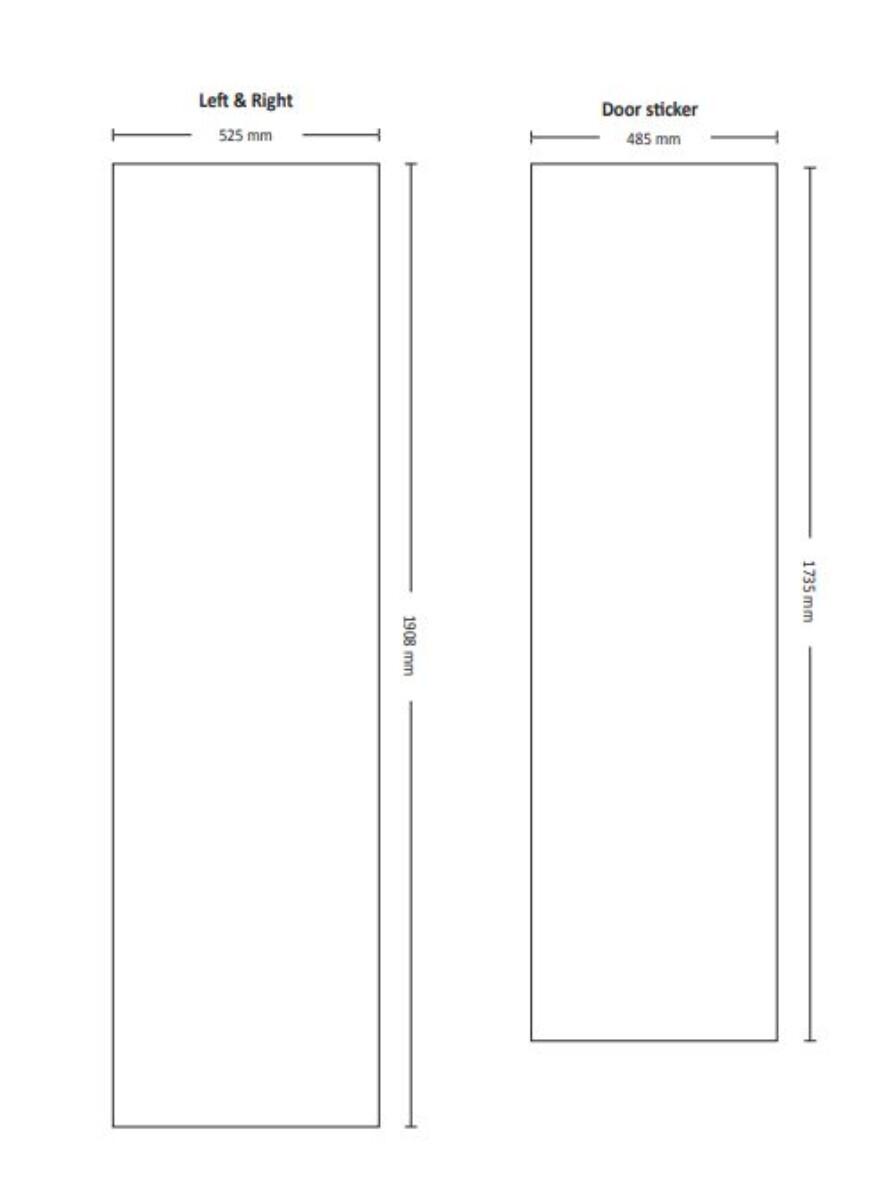 Scandomestic Display kjøleskap SD 430 E