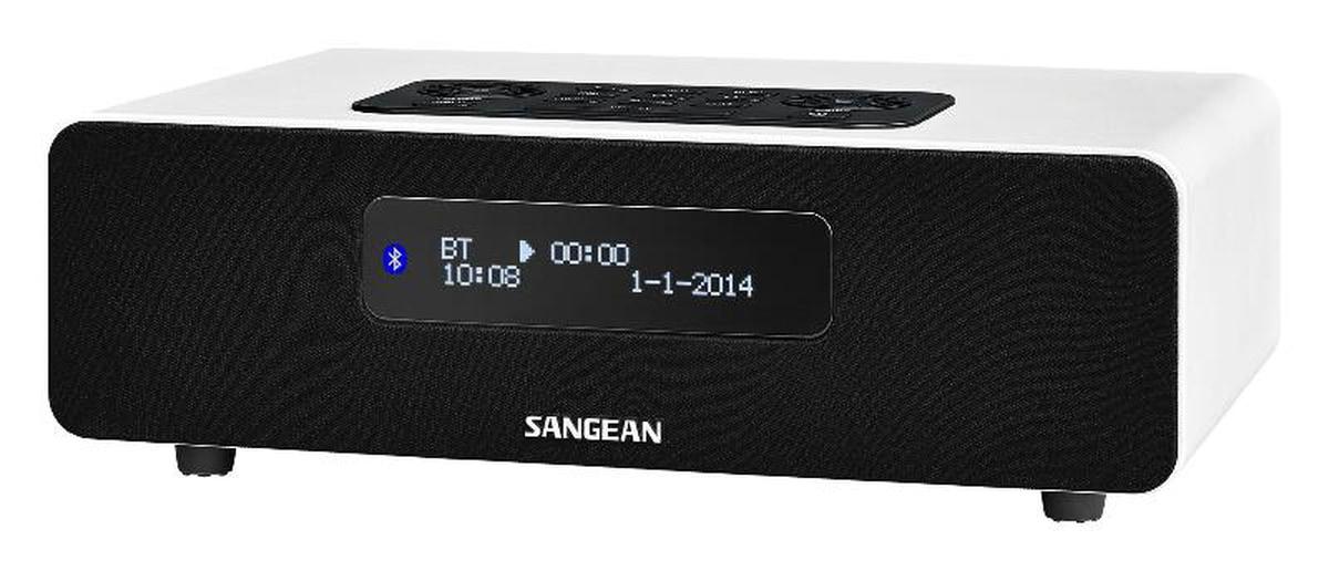 Sangean DAB+ Bord radio DDR36 hvit