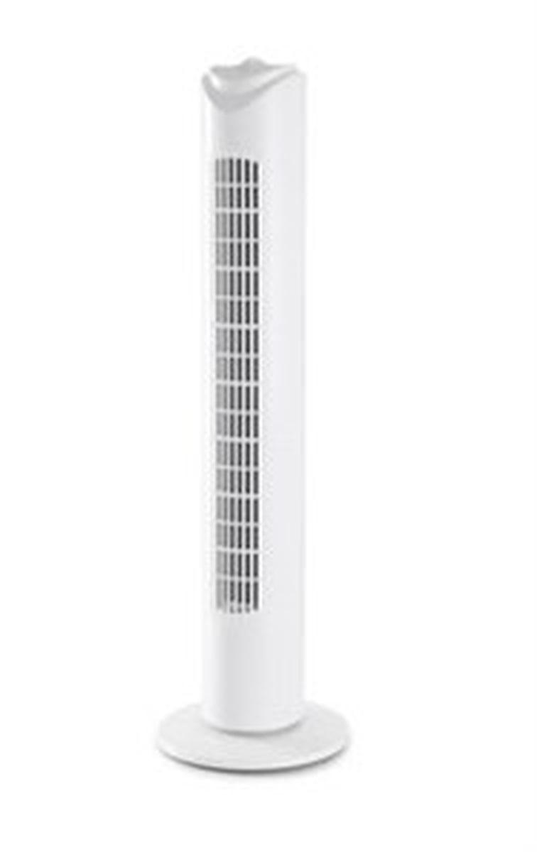 Day vifte Tårn Høyde 74 cm hvit 45W