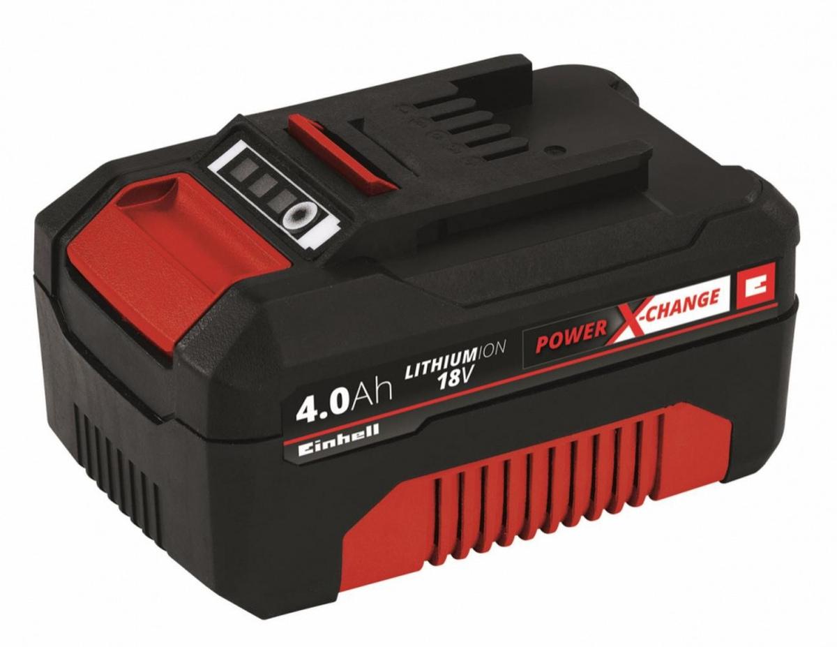 Einhell18V 4,0 Ah Power-X-Change, Batterisett 4511396