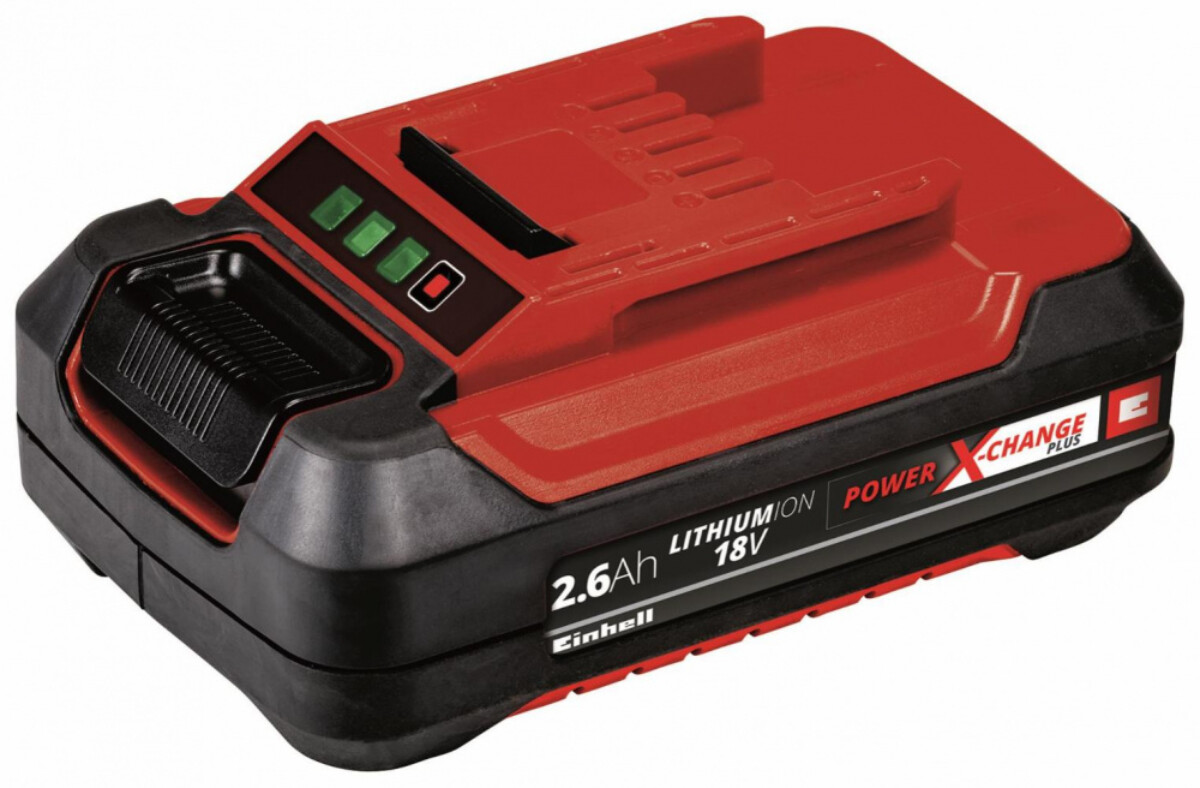 Einhell18 V 2,6 Ah P-X-C Plus Batterisett 4511436