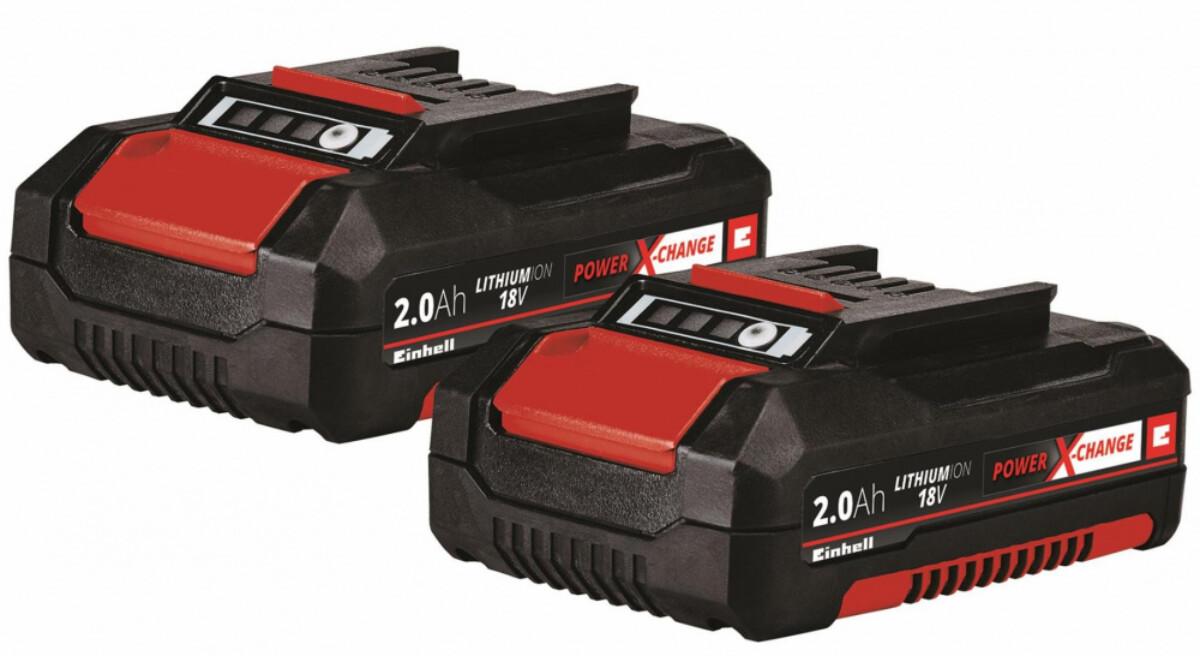 EinhellPXC-Twinpack 2,0 Ah, Batterisett4511488