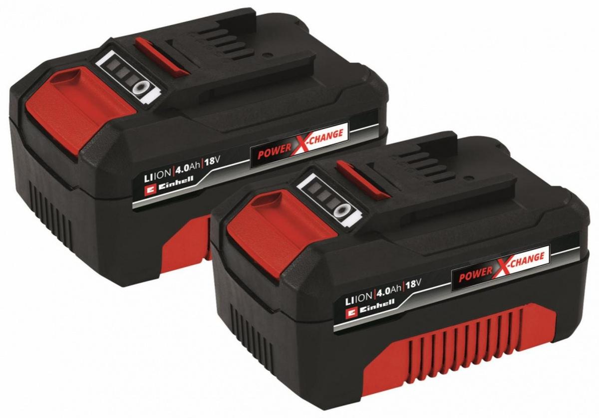 EinhellPXC-Twinpack 4,0 Ah, Batteri4511489