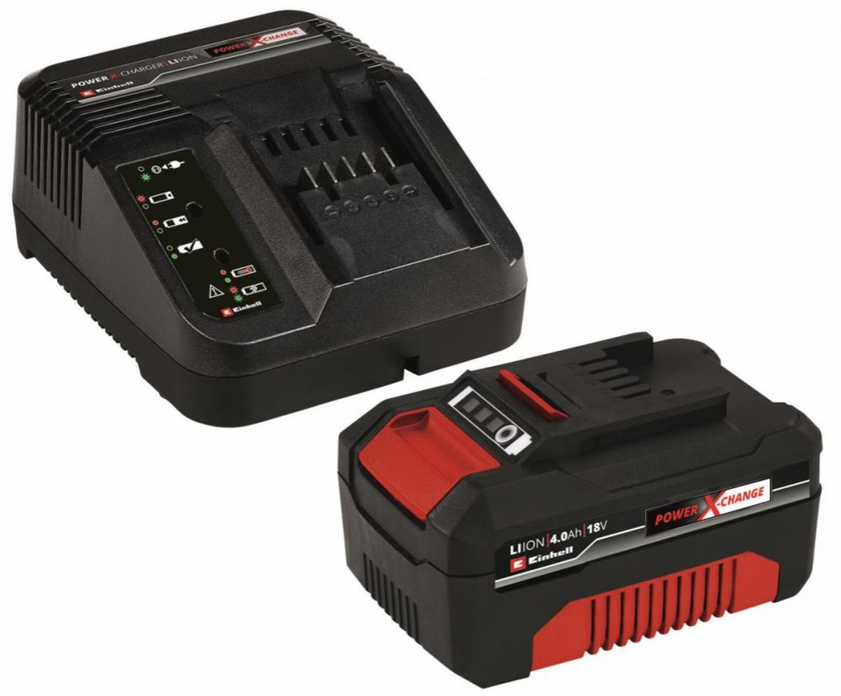 Einhell18 V 4,0 Ah PXC Sett med lader og batteri4512042