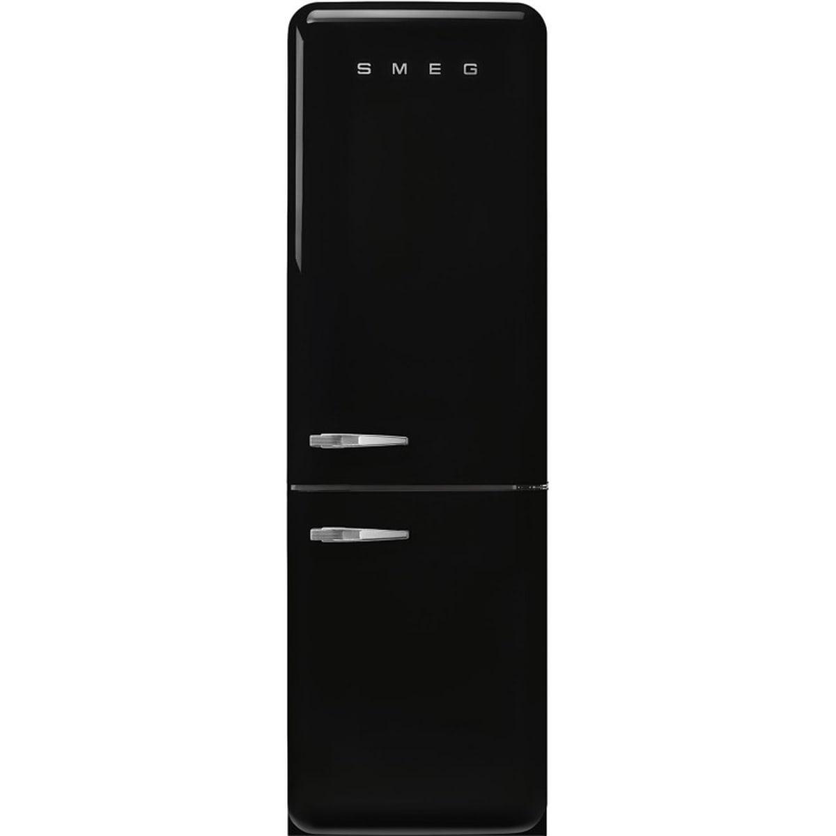 Smeg kombiskap 196,8 cm sort høyre FAB32RBL5