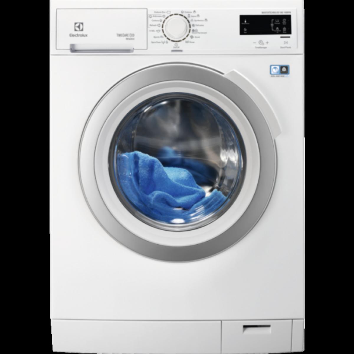 Electrolux vaskemaskin 8 kg 1400 omdr. 10 års motor garanti
