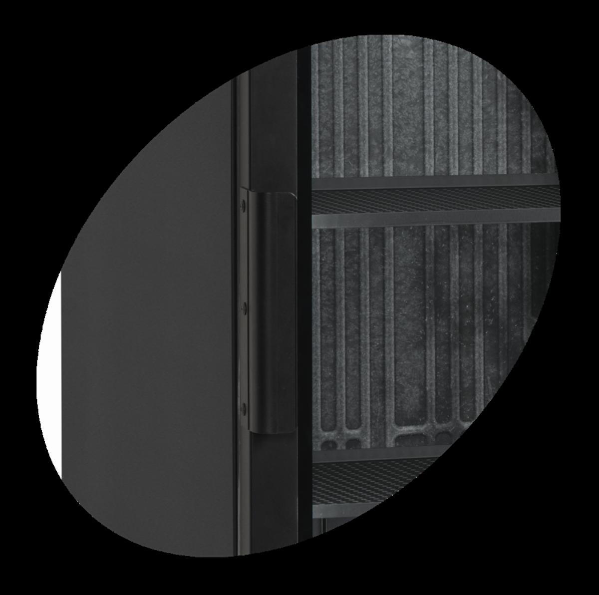 Tefcold display kjøleskap svart 199 cm SCU1425H
