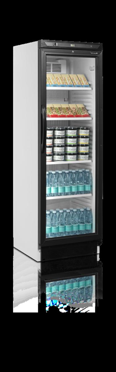 Tefcold display kjøleskap hvit 184 cm CEV425 1 LED