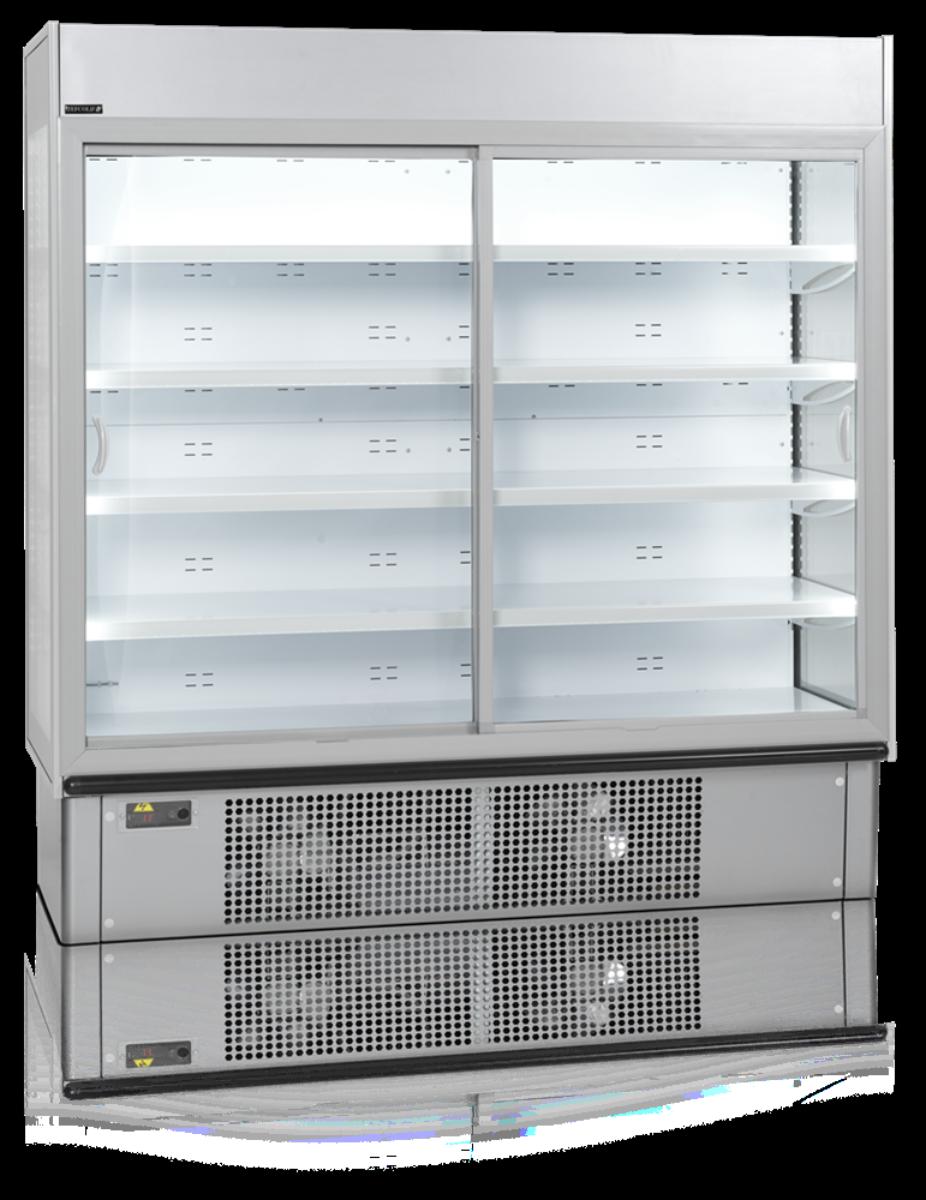 Tefcold display kjøleskap 2 dører 1340 liter MDS1900