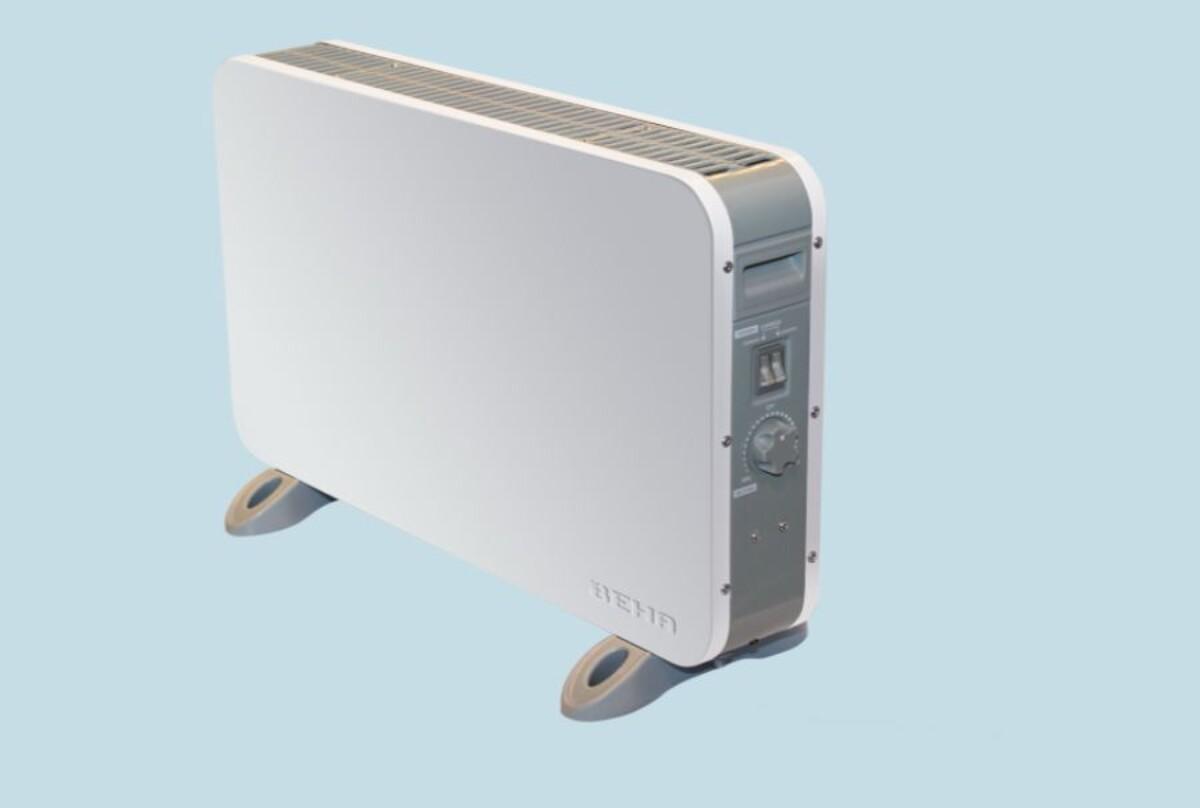 Beha gulvovn 1800 watt hvit FG 1800
