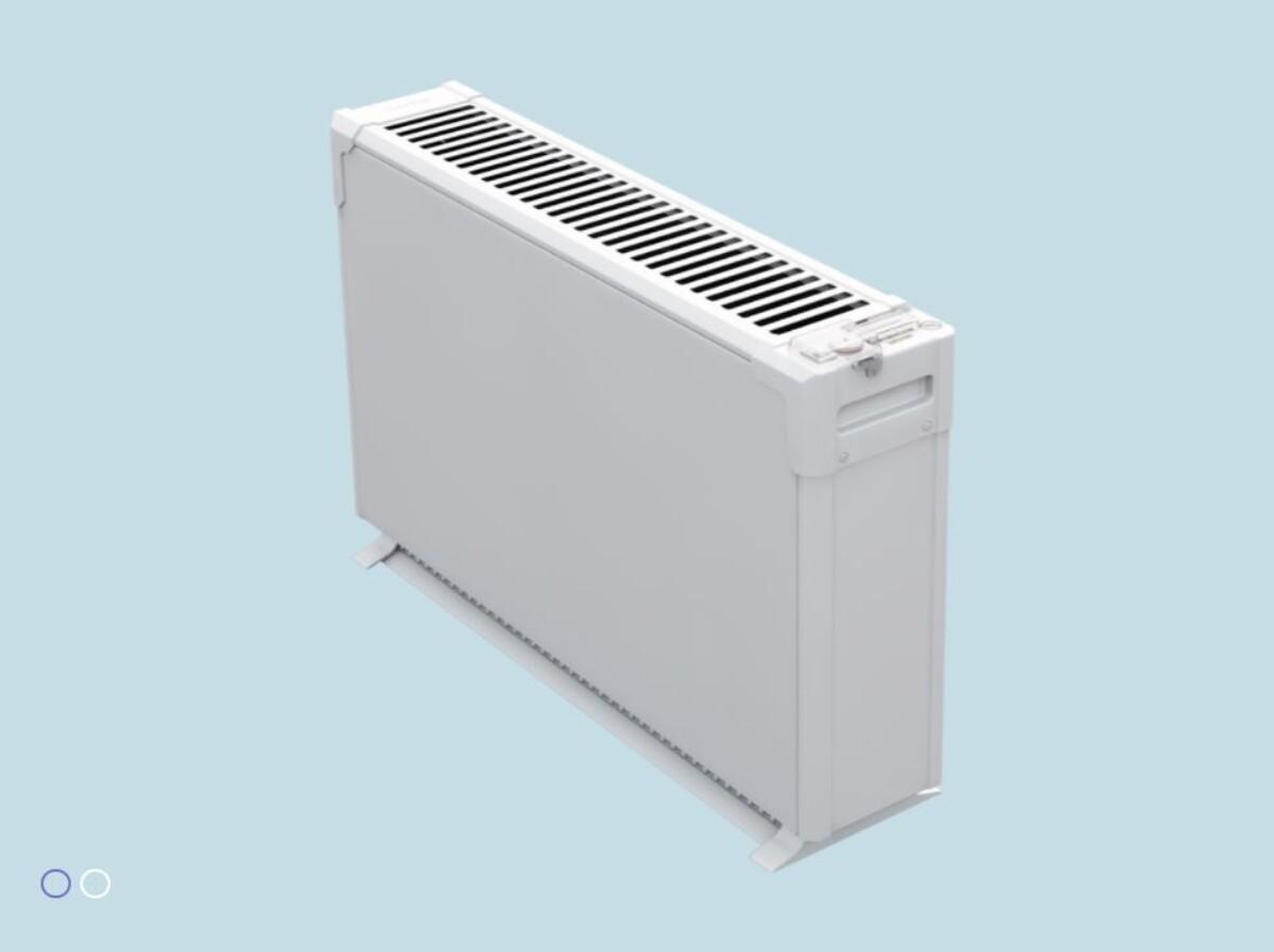 Beha miljøgulvovn 1500 watt hvit GME 1500
