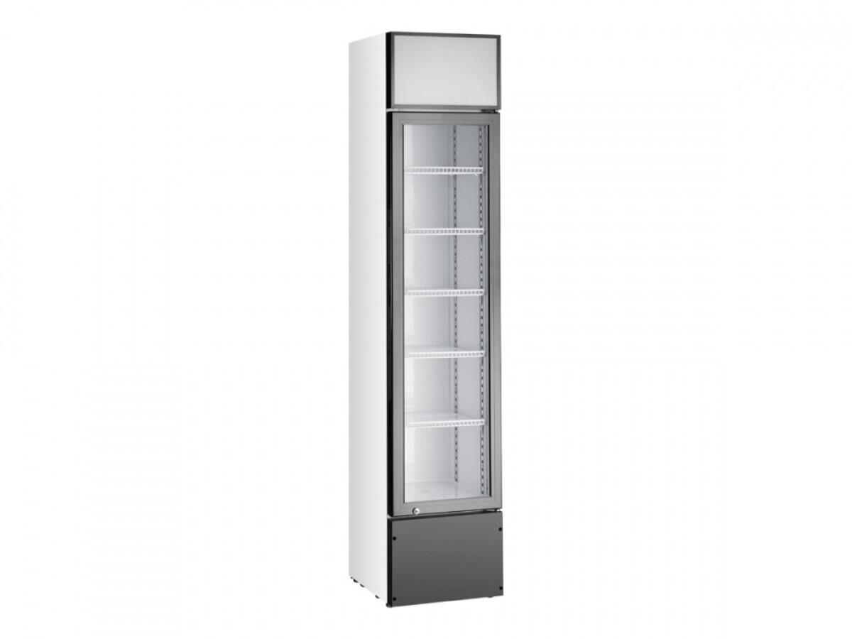 Vibocold displaykjøleskap 1 dørhvit VDCS 218W