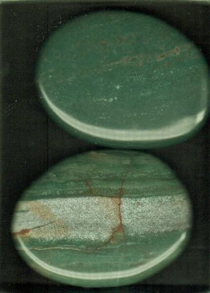 Bilde av Jaspis Grønn Lommestein 3cm