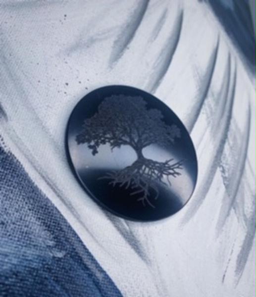 Bilde av Shungitt Plate 5cm