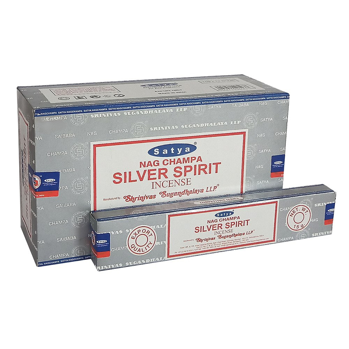 Satya Silver Spirit Røkelse