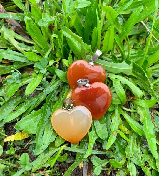 Bilde av Karneol Hjerte 2cm
