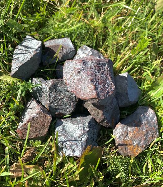Bilde av Hematitt Råstein 60-90 gram