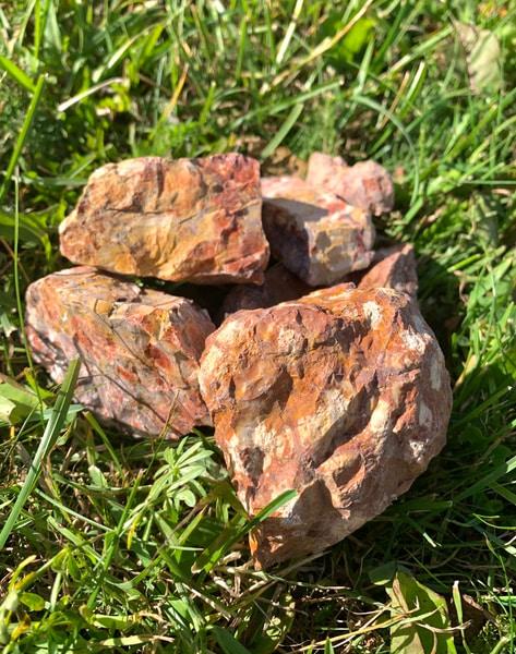 Bilde av Rhyolitt Råstein 4-6cm