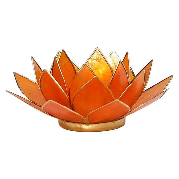 Bilde av Lotus Telys Oransje