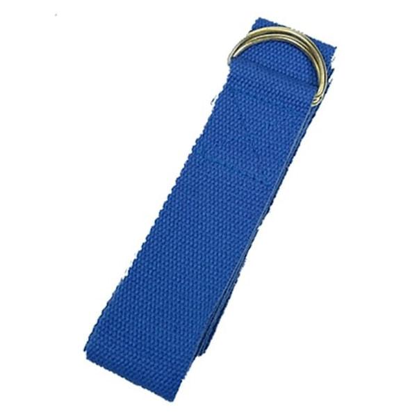 Bilde av Yogastropp D-ring Blå
