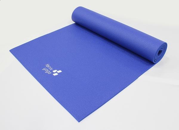 Bilde av Ananda Yogamatte Blå 6mm