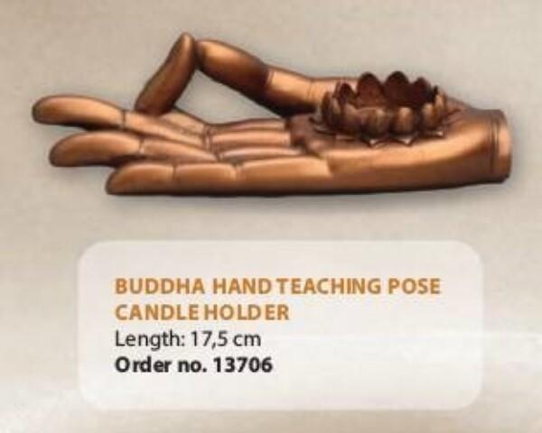Bilde av Buddha-hånd med lotus til