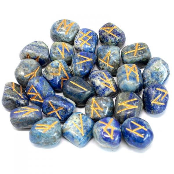 Bilde av Runesett Lapis Lazuli