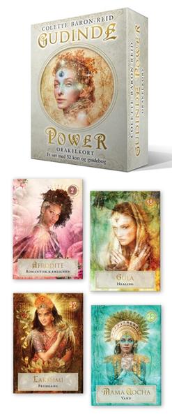 Bilde av Gudinde Power Orakelkort