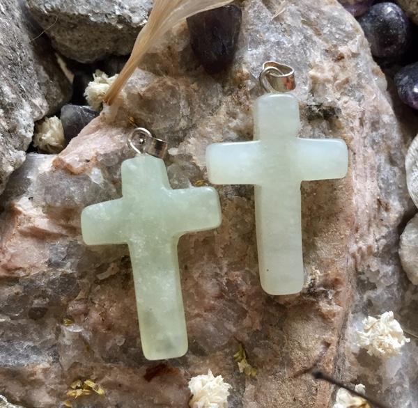 Bilde av Kors, Jade Grønn