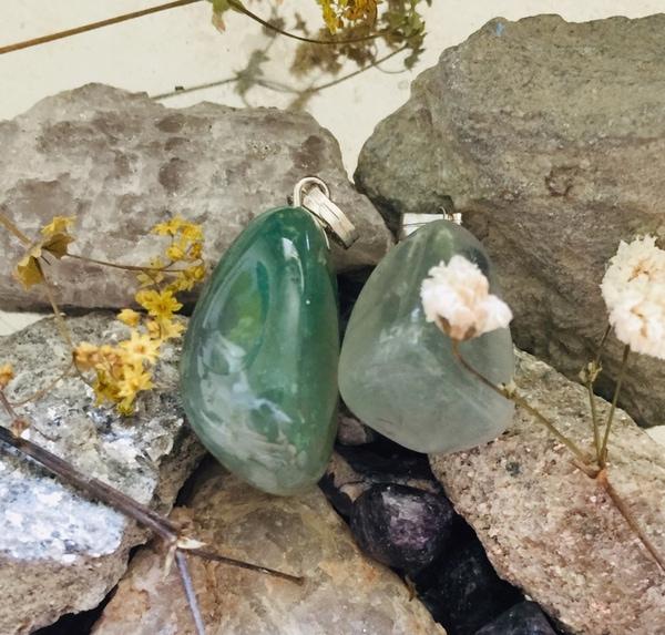 Bilde av Fluoritt, Grønn Tromlet