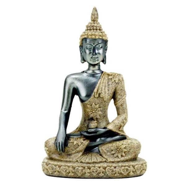 Bilde av Buddha statue av sand