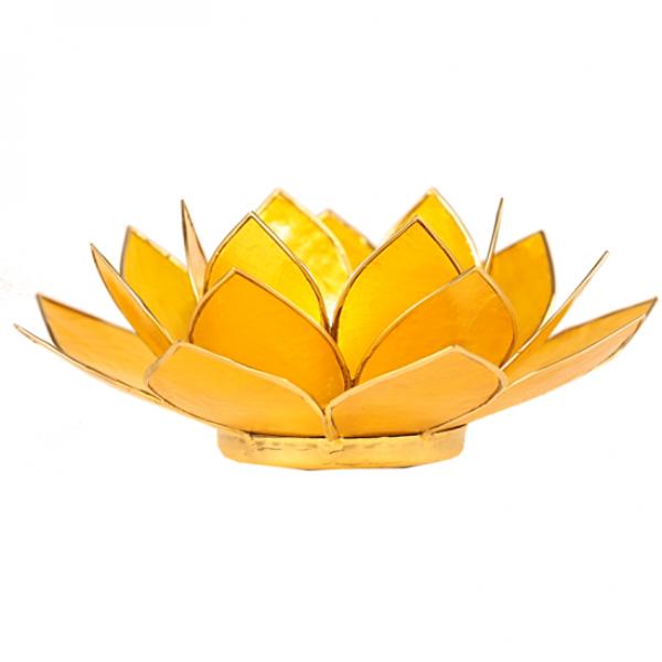 Bilde av Lotus Lys Gul chakra 3