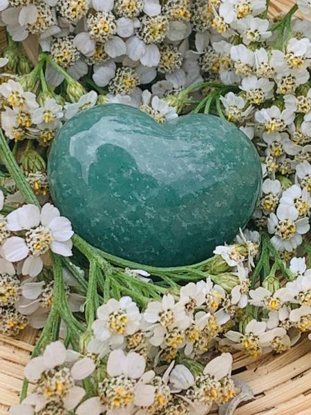 Bilde av Aventurin, Grønn Hjertesten