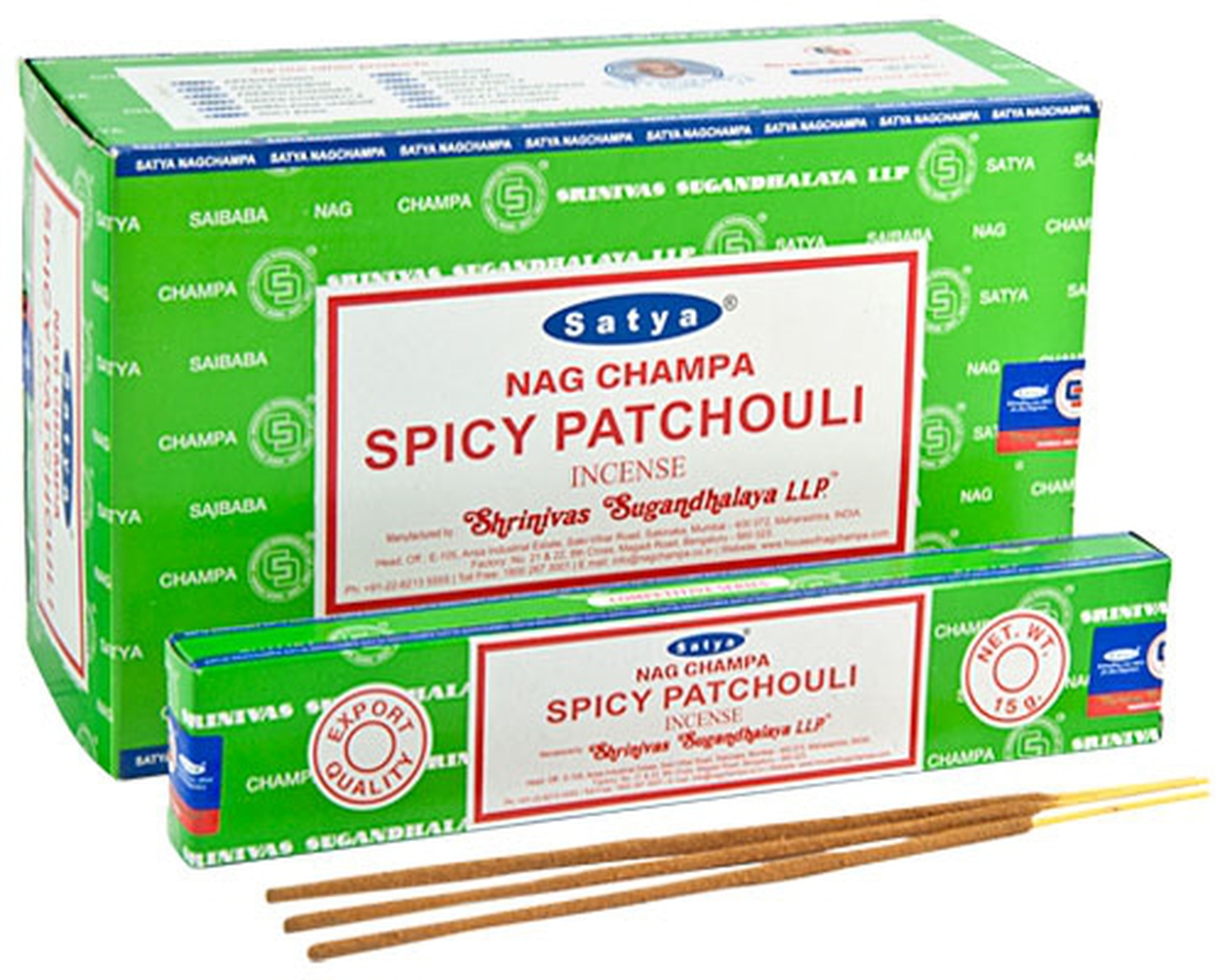Satya Spicy Patchouli Røkelse