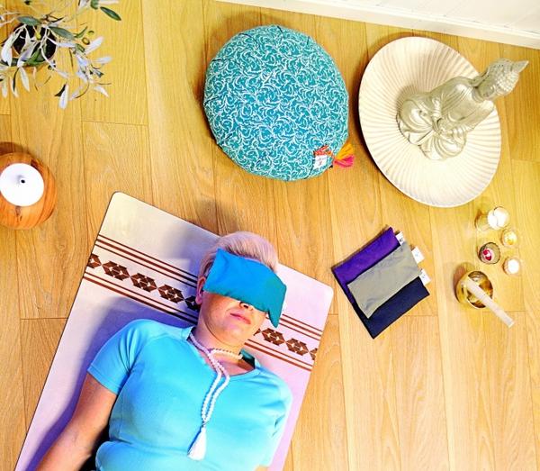 Bilde av Øyepute meditasjonsmaske med