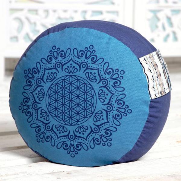 Bilde av Meditasjonspute azurblå 17cm