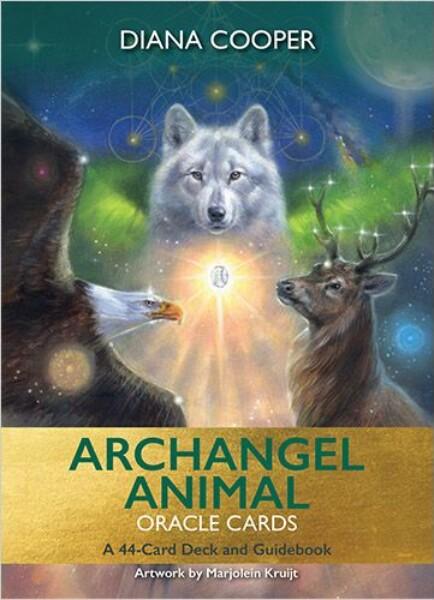 Bilde av Archangel Animal Oracle Cards