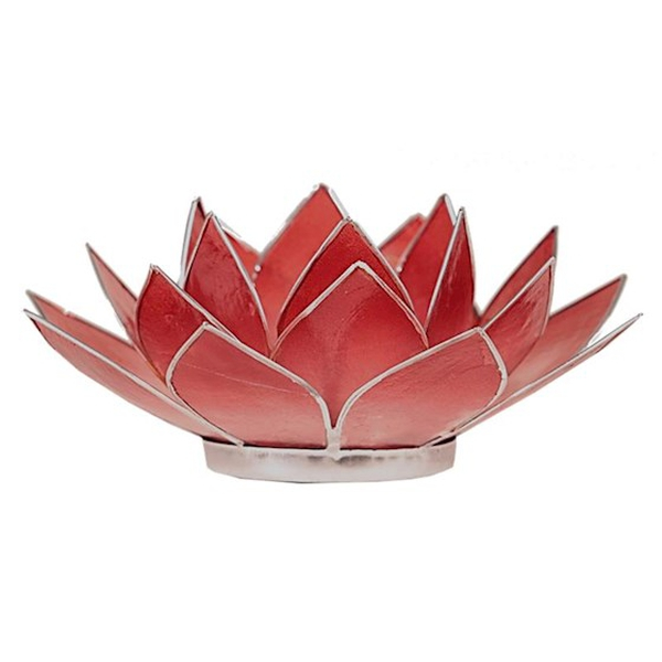 Bilde av Lotus Lys Rødrosa