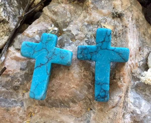 Bilde av Kors, Hovelitt Blå