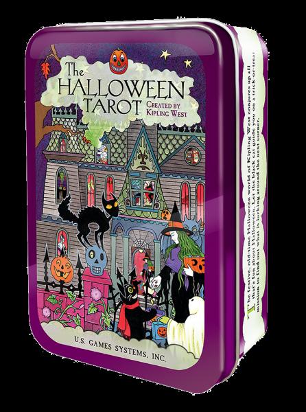 Bilde av The Halloween Tarot in a Tin