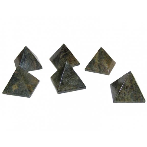 Bilde av Jaspis Slangeskinn pyramide