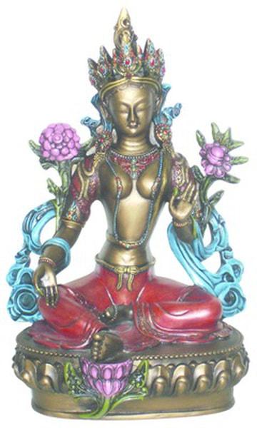 Bilde av Grønn Tara 29 cm Sittende