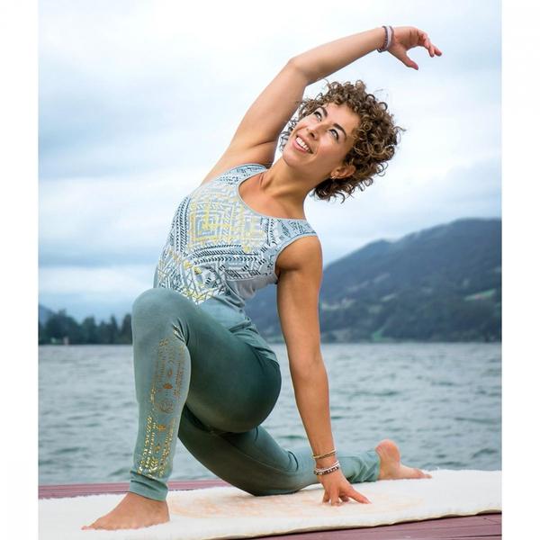 Bilde av Yoga Top Bakti Grønn