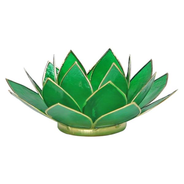 Bilde av Lotus grønn telysholder