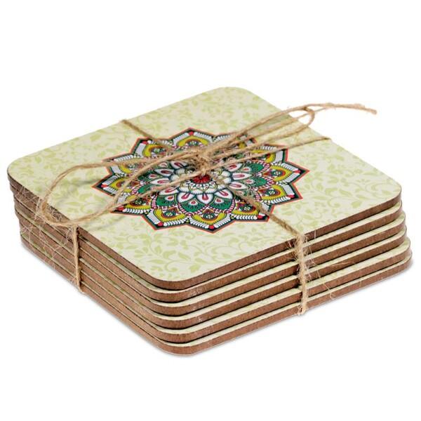 Bilde av Grønne Mandala brikker