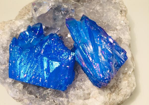 Bilde av Aurakrystall Blå Azur