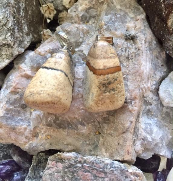 Bilde av Jaspis Landskap Tromlet