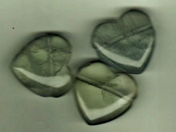 Bilde av Fluoritt Hjerte 3cm