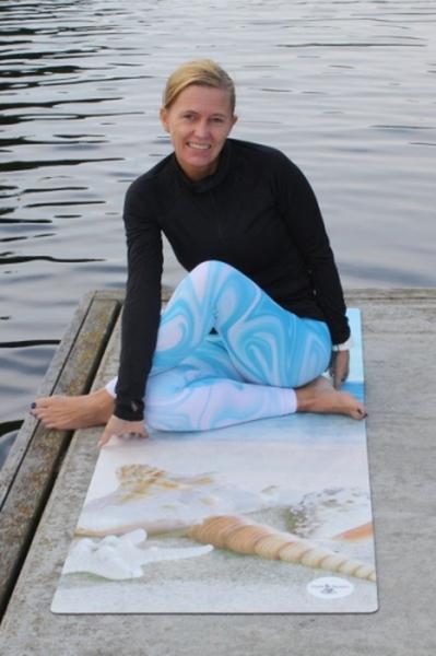 Bilde av Yogamatte Seashell