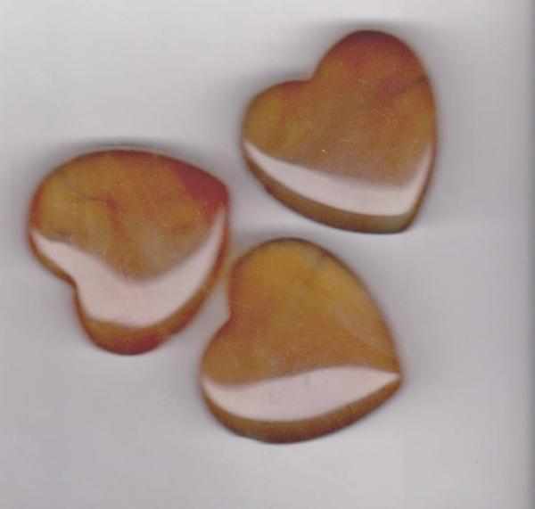 Bilde av Karneol Hjerte 3cm